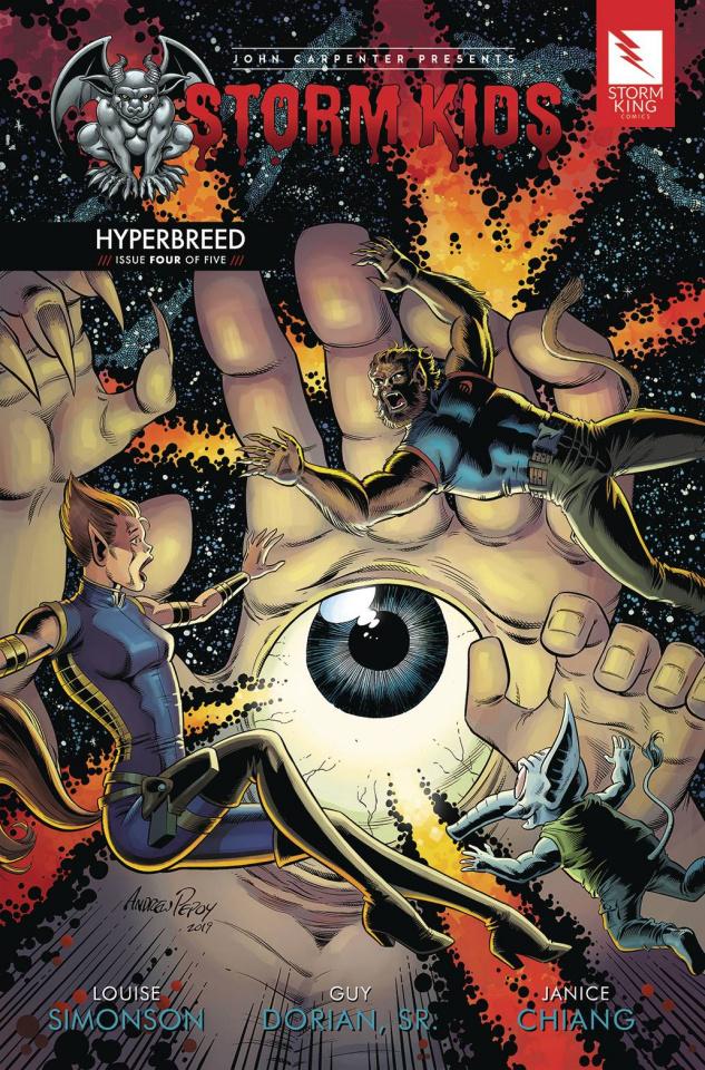 Storm Kids: Hyperbreed #4