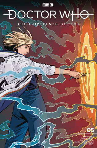 Doctor Who: The Thirteenth Doctor #5 (Isaacs & Jackson Cover)