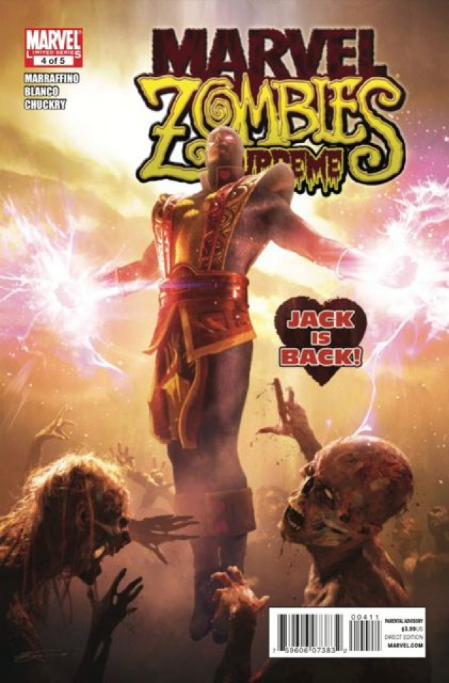Marvel Zombies: Supreme #4