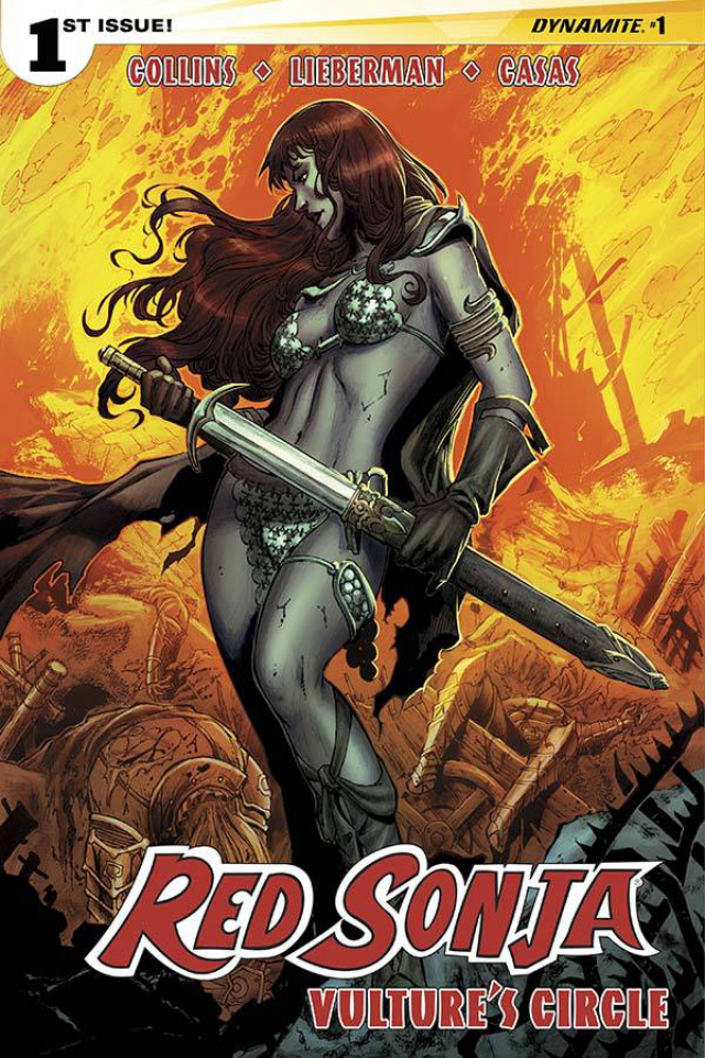 Red Sonja: Vulture's Circle #1 (Geovani Cover)