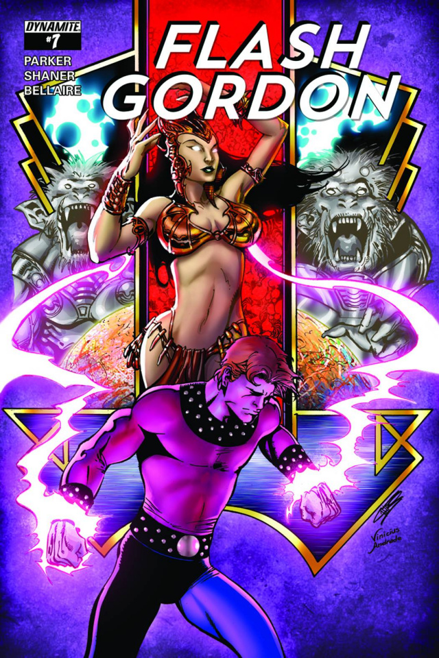 Flash Gordon #7 (80th Anniversary Castro Cover)