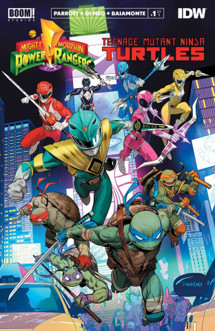 Power Rangers / Teenage Mutant Ninja Turtles #1 (2nd Printing)