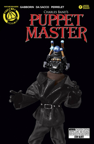 Puppet Master #7 (Decapitron Photo Cover)