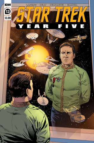 Star Trek: Year Five #13 (Thompson Cover)
