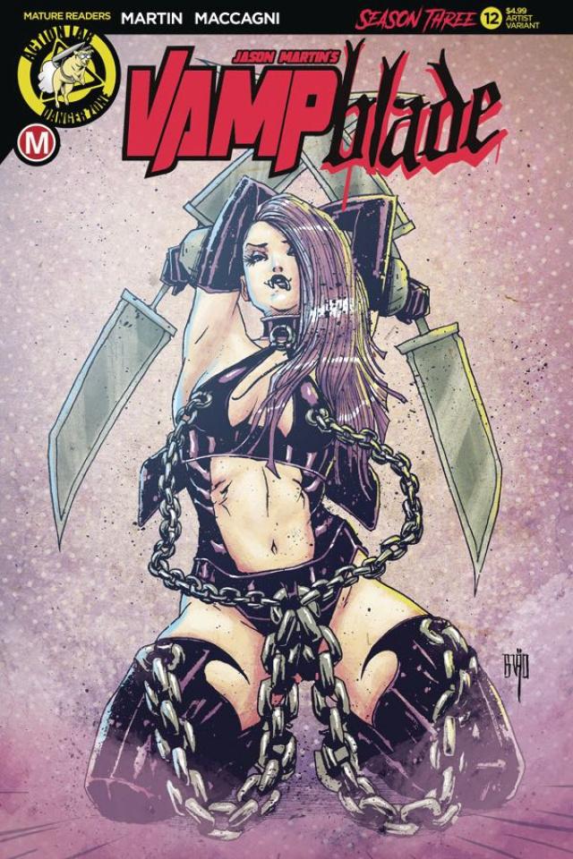 Vampblade, Season Three #12 (Brao Cover)