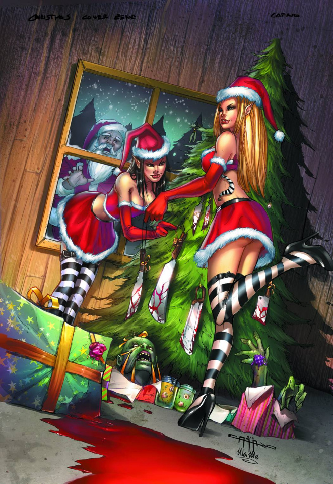 Grimm Fairy Tales 2012 Holiday Special (Cafaro Cover)