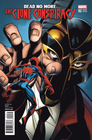 The Clone Conspiracy #2 (Bagley Cover)