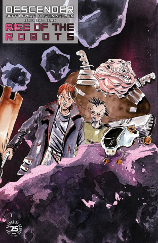 Descender #26 (Interlocking Lemire & Nguyen Cover)