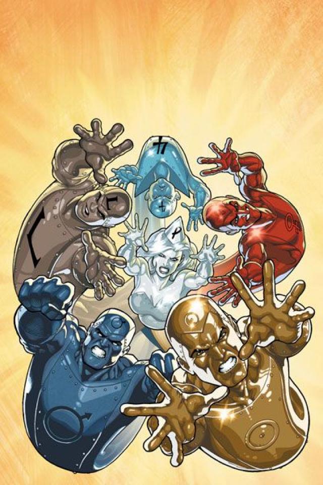 DC Comics Presents: The Metal Men #1