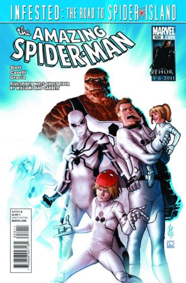 The Amazing Spider-Man #659 (2nd Printing)