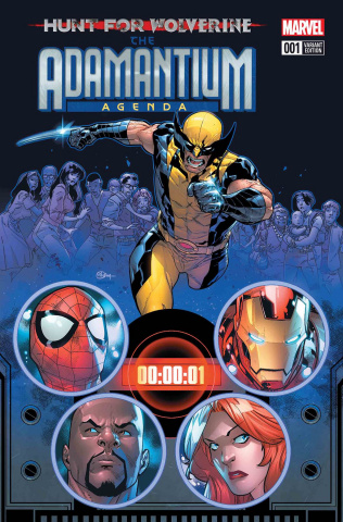 Hunt for Wolverine: The Adamantium Agenda #1 (Silva Cover)