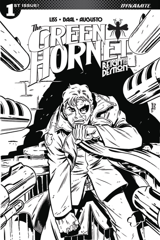 The Green Hornet: Reign of the Demon #1 (10 Copy Marques Cover)