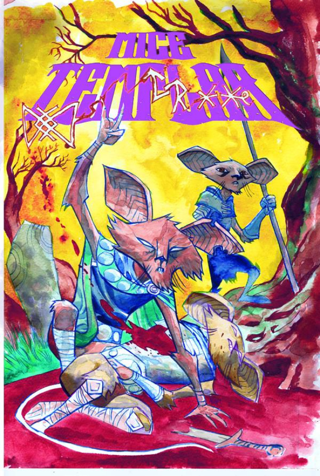 Mice Templar: The Legend #10 (Oeming Cover)