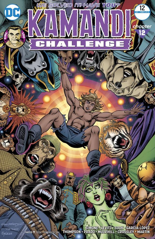 The Kamandi Challenge #12 (Garcia Lopez Cover)