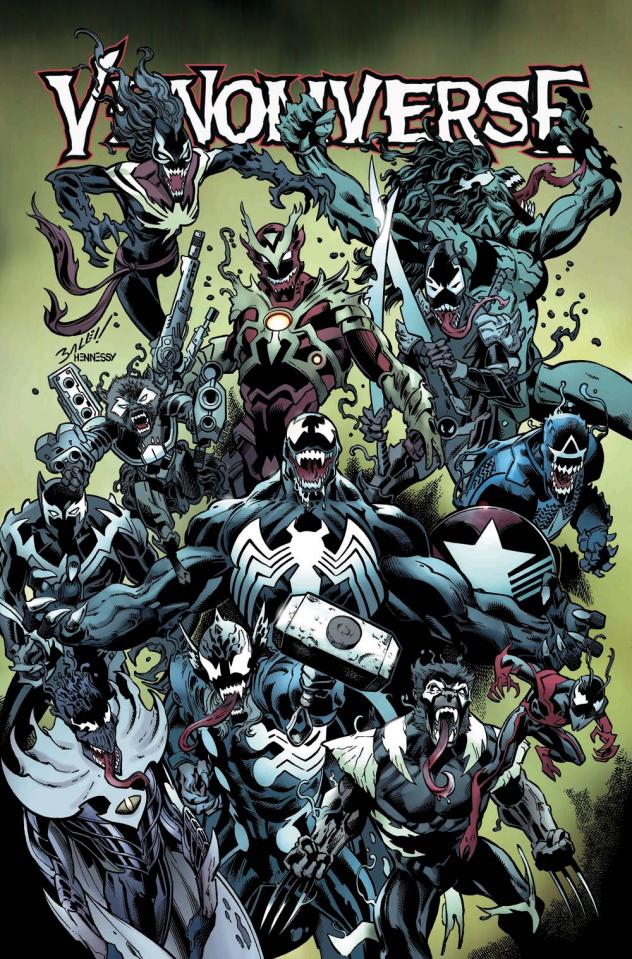 Venomverse #4 (Bagley Cover)