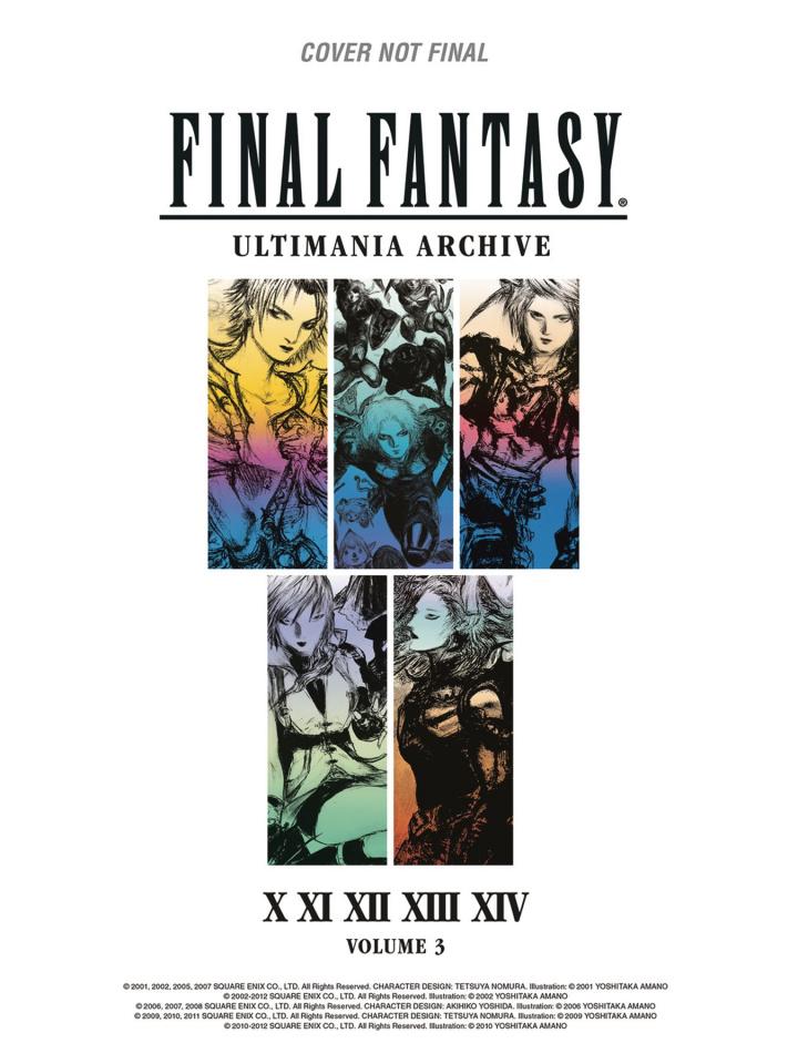Final Fantasy: Ultimania Archive Vol. 3