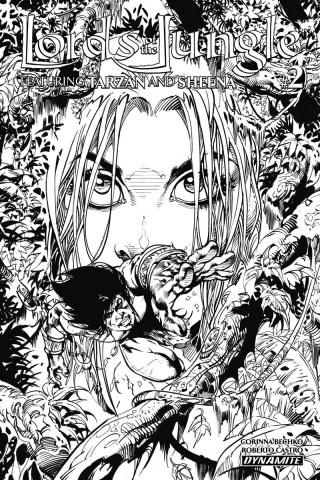 Lords of the Jungle #2 (10 Copy Castro B&W Cover)