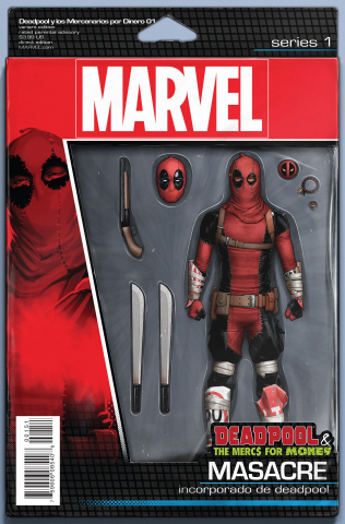 Deadpool and the Mercs For Money #1 (Christopher Action Figure Cover)