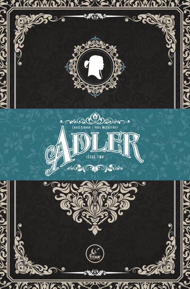 Adler #2 (Victorian Homage Cover)