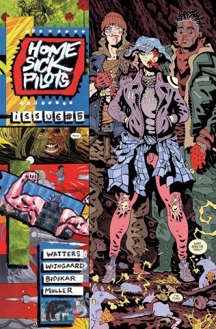 Home Sick Pilots #5 (Moore Cover)