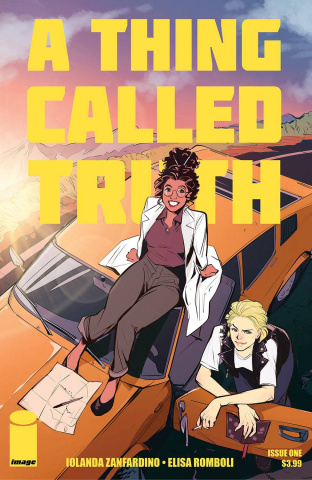 A Thing Called Truth #1 (Romboli Cover)