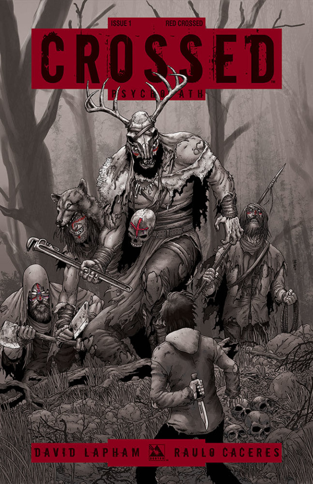 Crossed: Psychopath #1 (Red Crossed Cover)