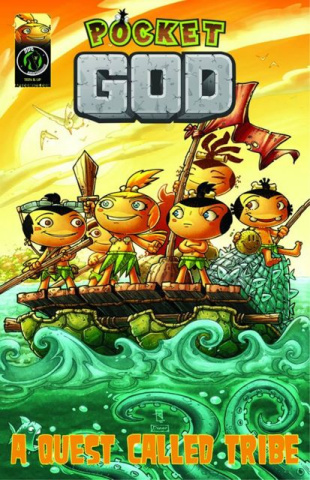 Pocket God Vol. 3: A Quest Called Tribe