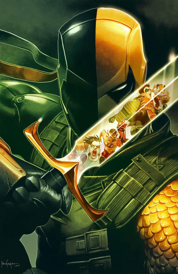 Teen Titans #28: The Terminus Agenda (Variant Cover)