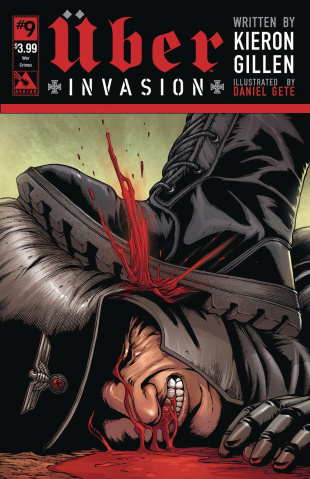 Über: Invasion #9 (War Crimes Cover)