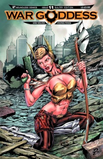 War Goddess #11 (Sultry Cover)