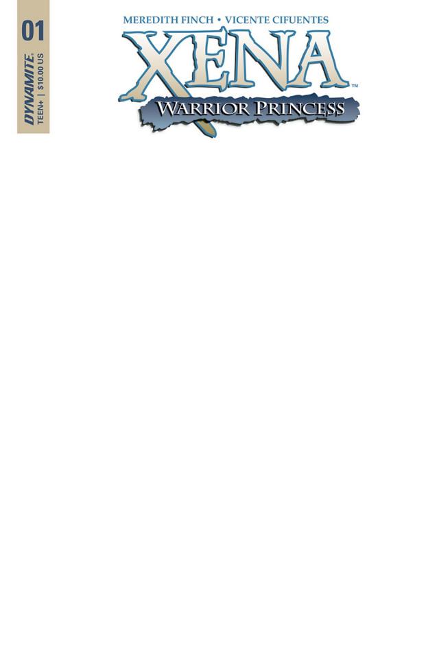 Xena #1 (Blank Authetix Cover)