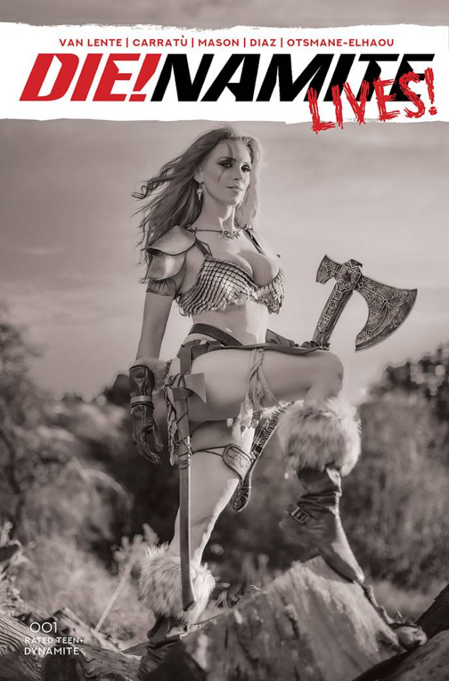 DIE!namite Lives! #1 (30 Copy Cosplay B&W Cover)