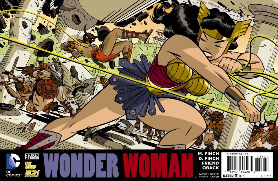 Wonder Woman #37 (Darwyn Cooke Cover)
