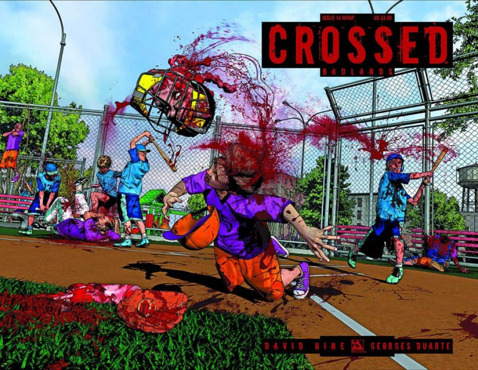 Crossed: Badlands #14 (Wrap Cover)