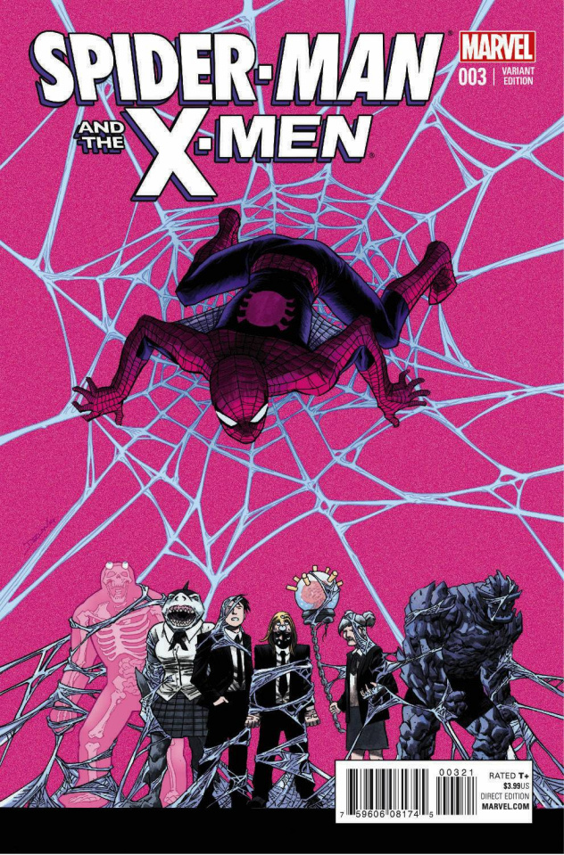 Spider-Man and the X-Men #3 (Shalvey Cover)