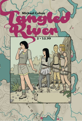 Tangled River #5 (Cohen Cover)