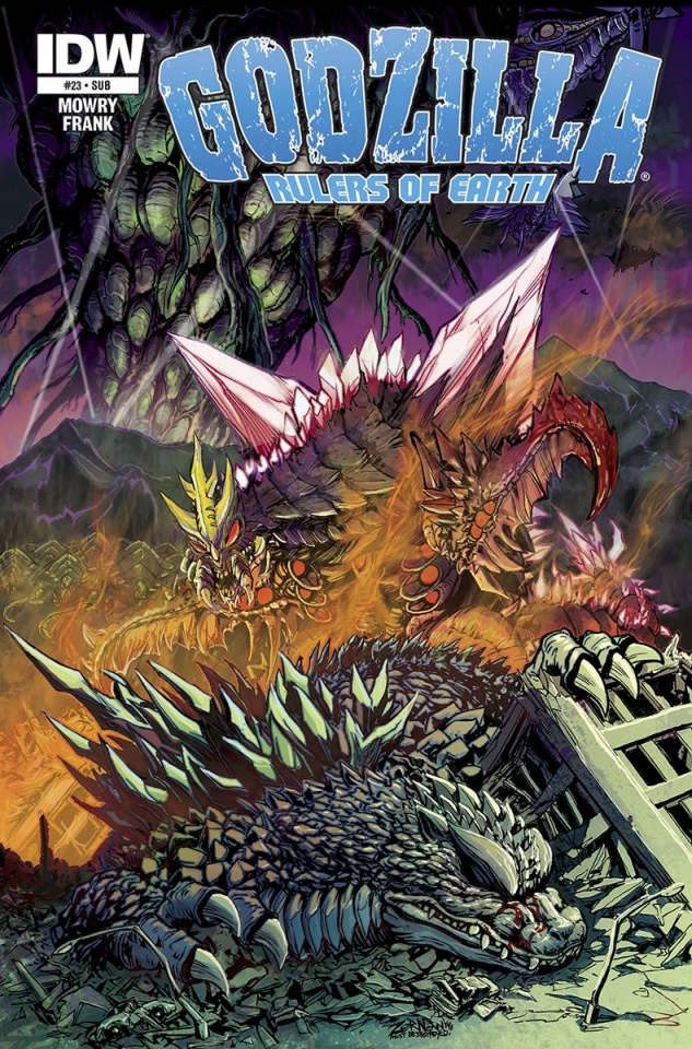 Godzilla: Rulers of Earth #23 (Subscription Cover)