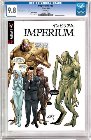 Imperium #13 (CGC Replica Henry Cover)