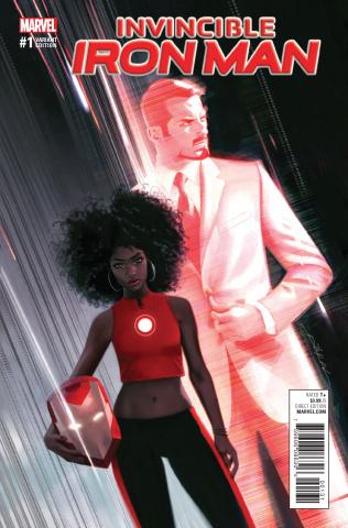 Invincible Iron Man #1 (Dekal Cover)