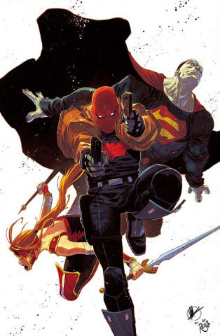 Red Hood and The Outlaws: Rebirth #1 (Variant Cover)