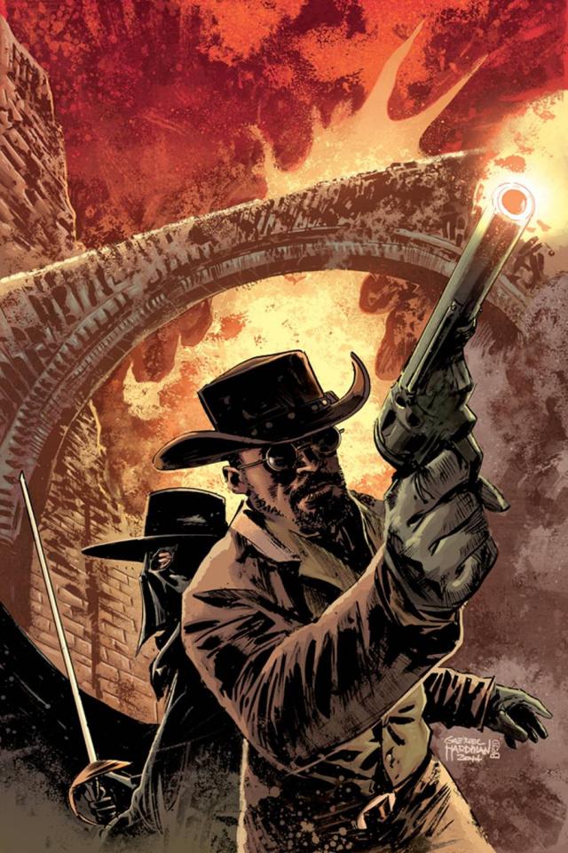 Django / Zorro #2 (Rare Hardman Virgin Cover)