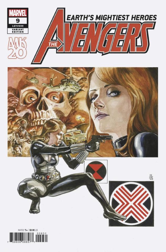 Avengers #9 (Jones Cover)