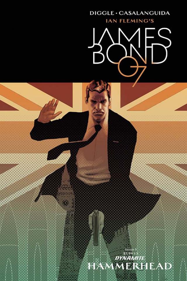 James Bond: Hammerhead #1 (Salas Cover)