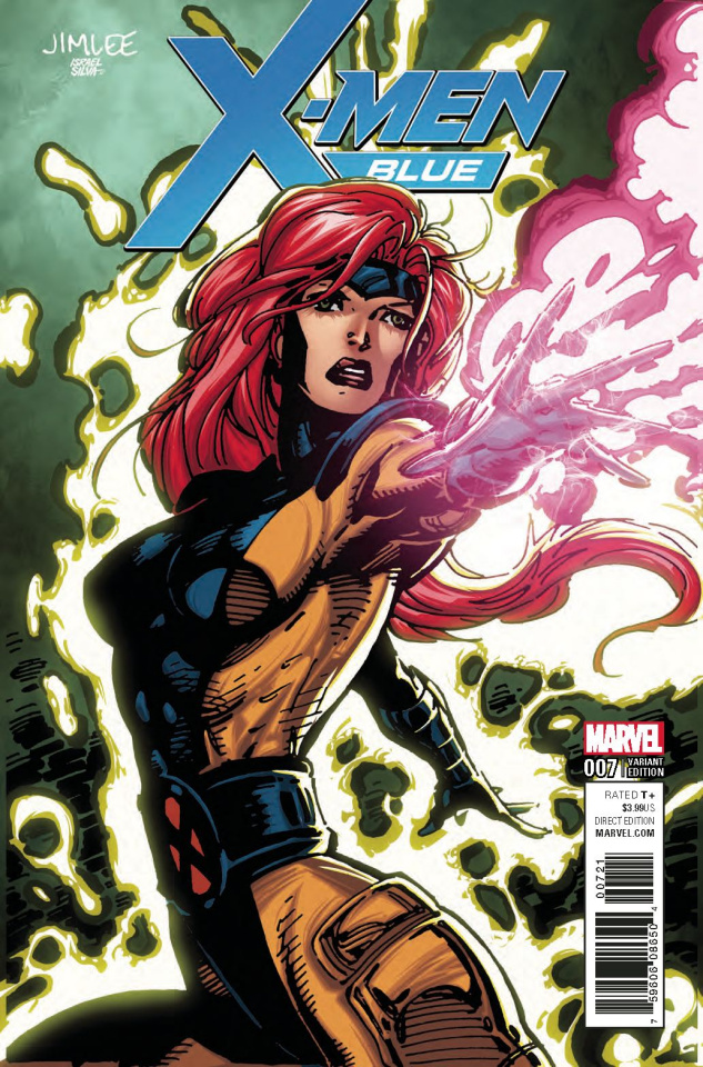 X-Men: Blue #7 (X-Men Card Cover)