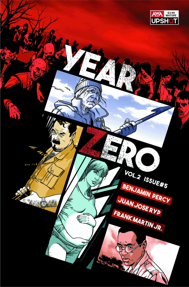 Year Zero #5 (Rosanas Cover)