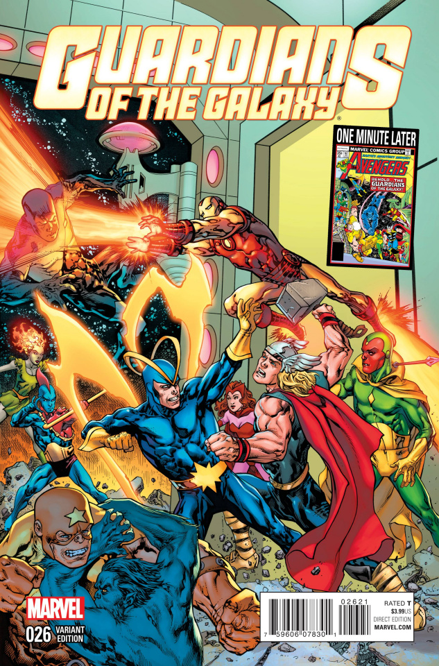 Guardians of the Galaxy #26 (Raney Avengers Variant)