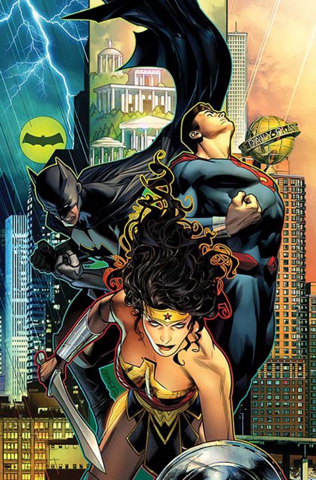 Trinity #4 (Variant Cover)