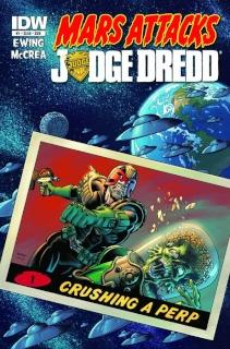 Mars Attacks Judge Dredd #1 (Subscription Cover)