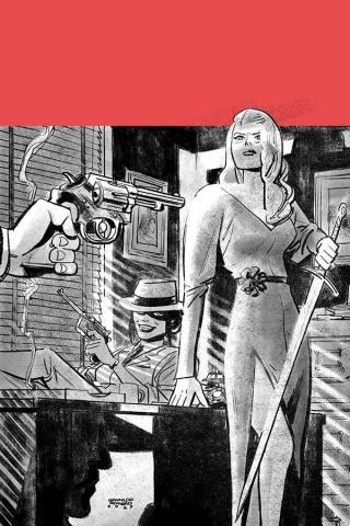 Vampirella / Red Sonja #7 (15 Copy Romero Tint Virgin Foc Cover)