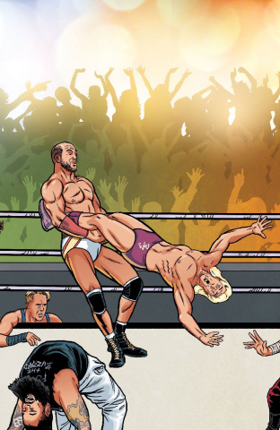 WWE #2 (Unlock Royal Rumble Connecting Cover)